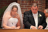 At Holy Trinity, the signing of the marriage license was done at the altar.