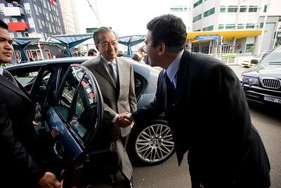 Mahathir in Melbourne