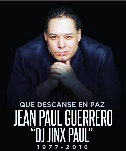 Please help the family of DJ Jinx Paul by donating to the link below. Thank you!