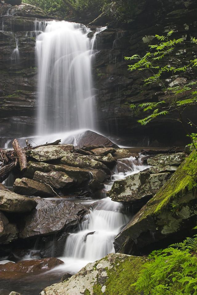 Upper Falls, Falls of Hills Creek, Monongahela National Forest, West Virginia