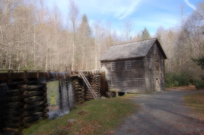 Mingus Mill, Great Smoky Mountains National Park, Cherokee, NC