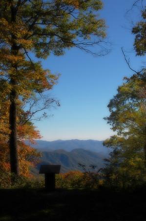 Overlook in GSMNP, NC