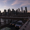 Sunset from the Brooklyn Bridge - Timelapse
