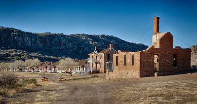 A key post in the defense system of west Texas, Fort Davis played a major role in the history of the Southwest from 1854 to 1891.