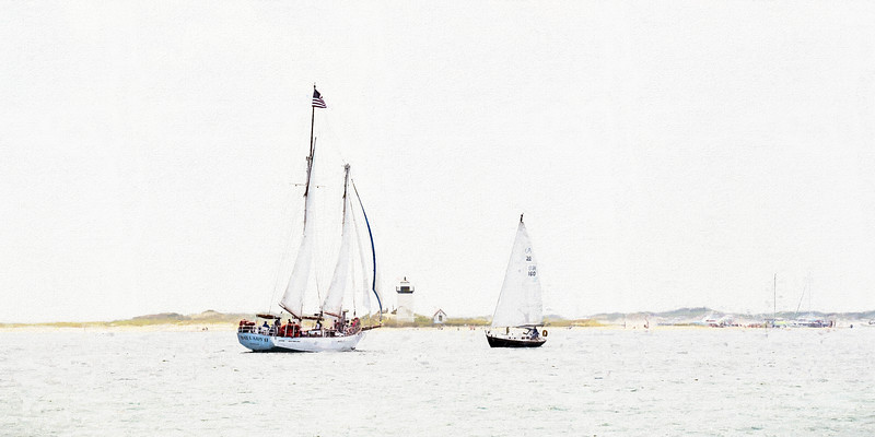 Bay Lady II & Long Point Light