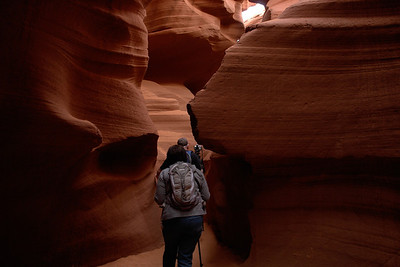 Absorbing Antelope Canyon