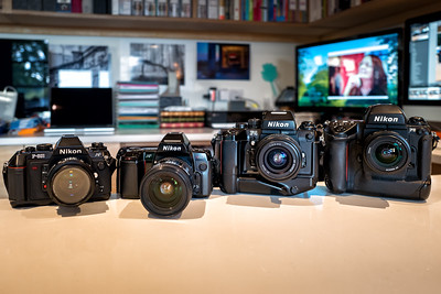 Nikon 35mm Film Cameras