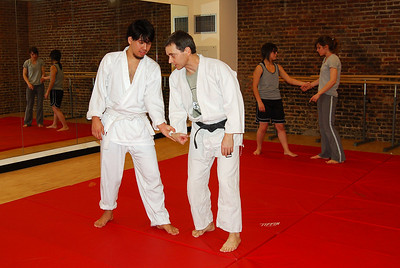 Jan 28th  Akido Class, some sort of defense move that works really well, and has a complicated name.