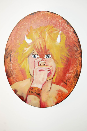Self Portrait: Oil on Canvas-2010