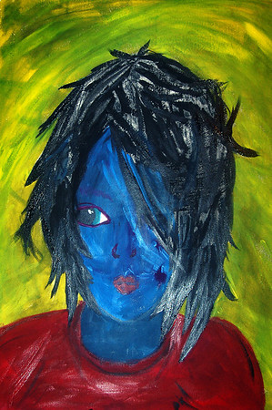 Lyra: Acrylic on Paper-2009