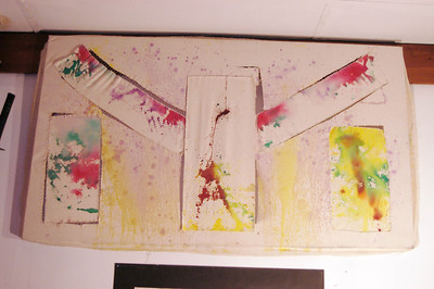 Ink Splash: Higgins Ink on Canvas-2010