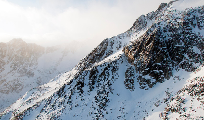 Coast Mountain region, Yukon Territory, Canada, December 2017