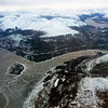 Flight approach from Vancouver to Whitehorse, Yukon Territory