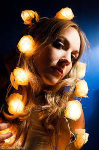 Photo shoot with singer/songwriter Susy Blue.