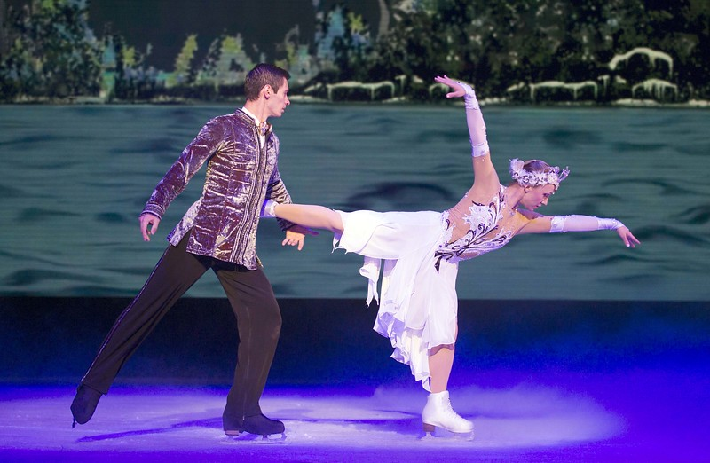 Swan Lake on Ice, The Arts Centre, Melbourne 2018.