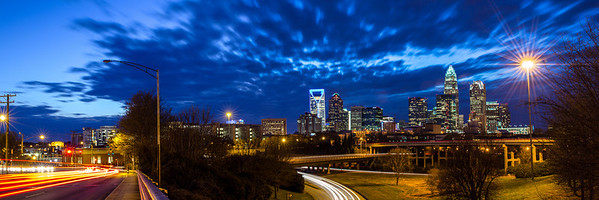 Charlotte Skyline Panorama