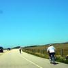 Class II (no signage) Rec cyclists battling wind