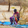 Maasai Woman By the Roadside