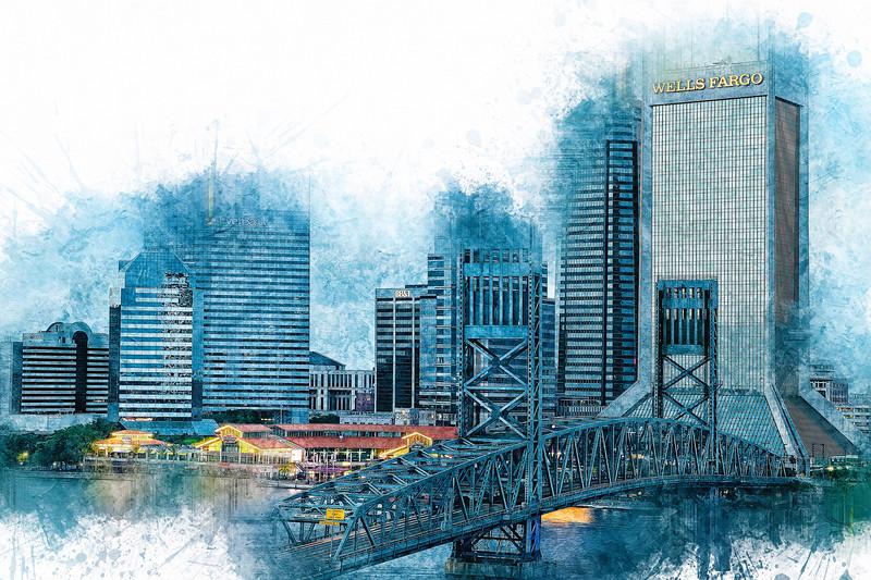 Jacksonville Sketch