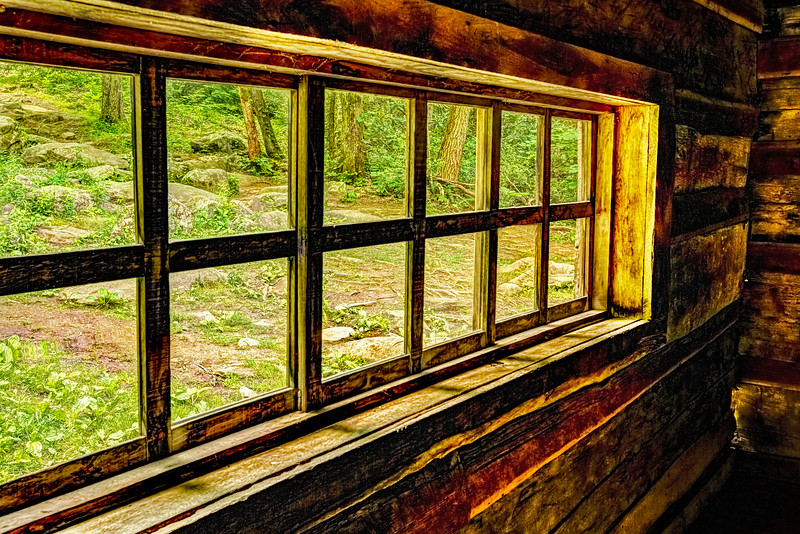 Window from an Old Old House