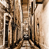 Avignon Alley in Monotones