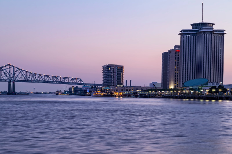 New Orleans Blue Hour