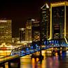 Jacksonville's Nighttime Skyline