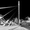 Penobscot Narrows Bridge in Infrared