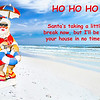 Santa Christmas Greeting Card
