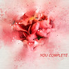 You Complete Me Romance / Valentine's Day Greeting Card