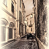An Avignon Alley in Monotones