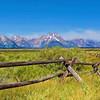 Wyoming's Grand Tetons Watercolor
