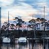 Sunset at Bluewater Bay Marina, Florida
