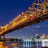 Crescent City Bridge, New Orleans, version 2