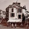 Arles, France, in Sepia