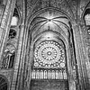 Notre Dame Cathedral Black and White