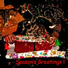 Cats Seasons Greeting Card