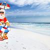 Santa Claus Lifeguard