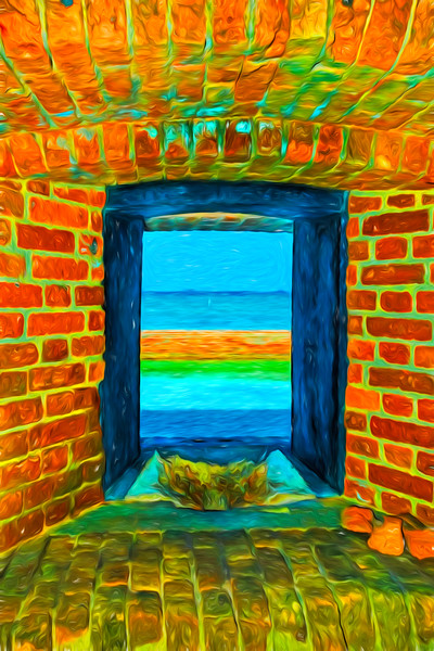 Dry Tortugas Armory Window