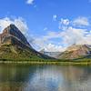 Glacier National Park, Montana, Mountain Scene