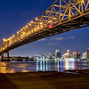 Crescent City Bridge, New Orleans