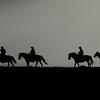 Riding the Absaroka Range at Sunrise