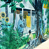 Sidewalk Scenes in Key West