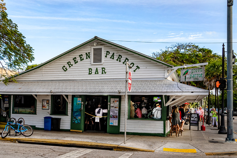 Green Parrot Bar, Key West