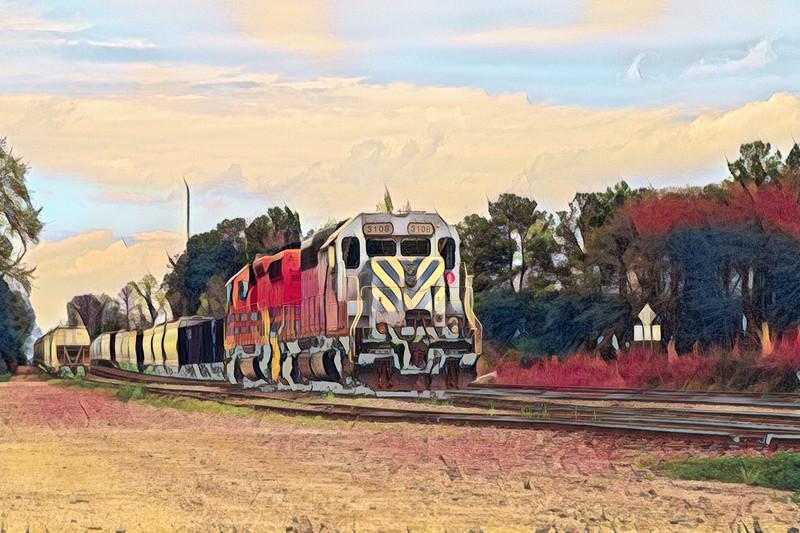 Hear That Train A' Coming
