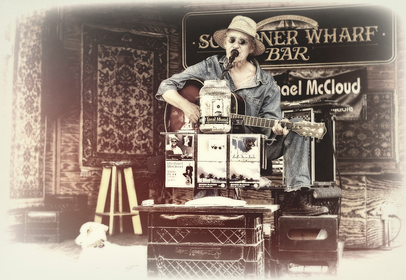 Michael McCloud, Schooner Wharf Bar, Key West, Florida
