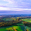 Landscape From An Ultralight Over New Bethlehem, Pennsylvania