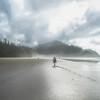 Misty Short Sands Beach in Oregon