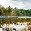 Jordan Pond Rays, Acadia National Park, Maine