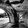 Fort Stevens in Black and White